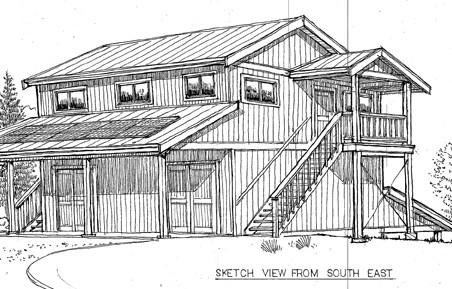 Conceptual drawing of proposed Produce Centre
