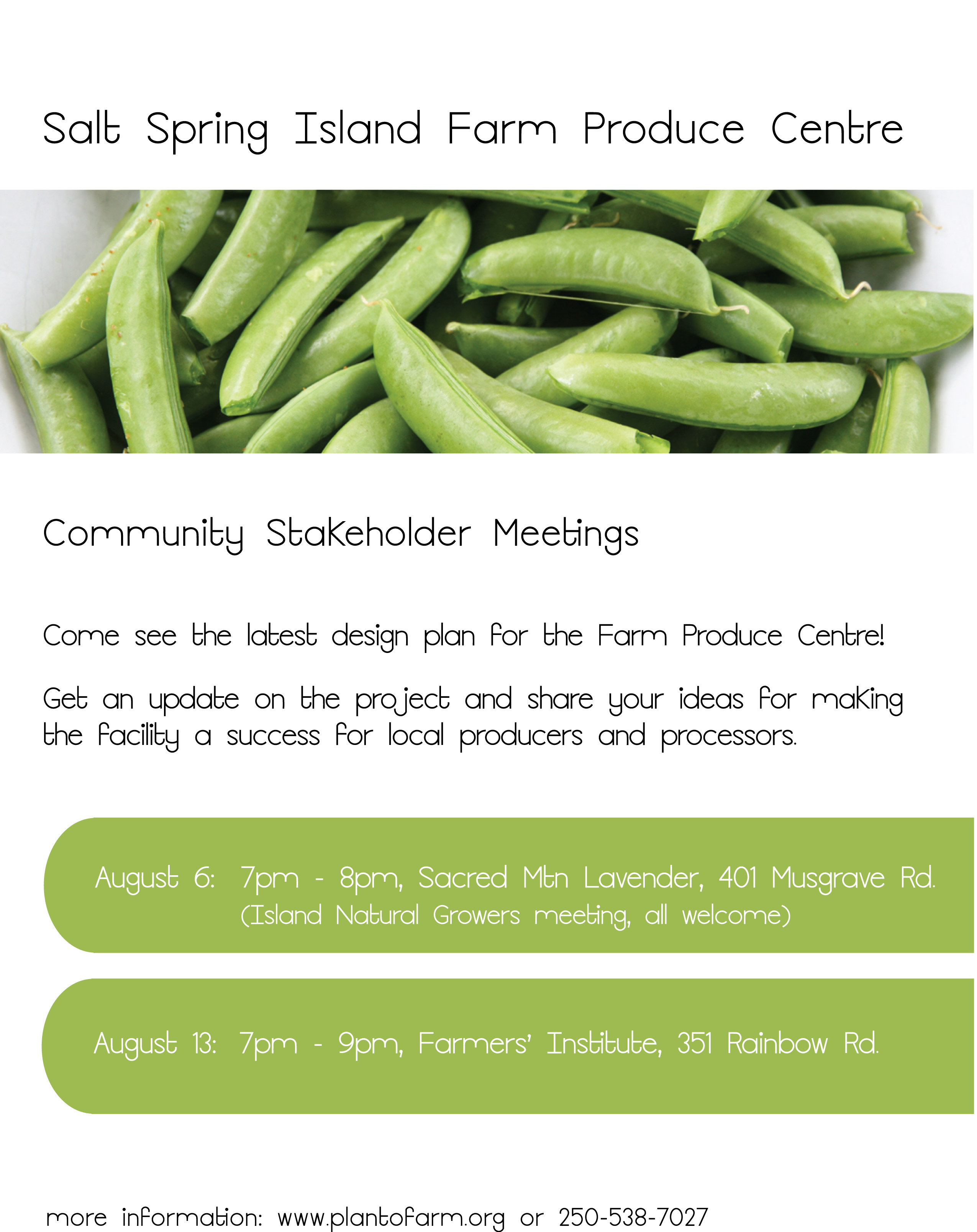 Produce Centre Public Meeting Announced