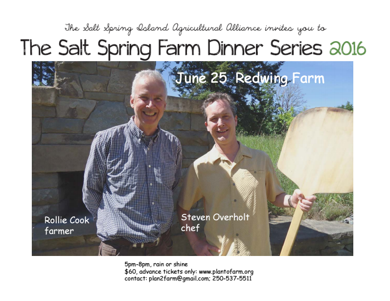 Farm Dinner at Redwing Farm