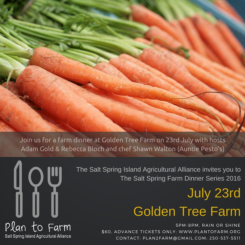 Golden Tree Farm Dinner 2016
